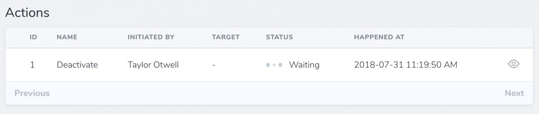 Status Field Example