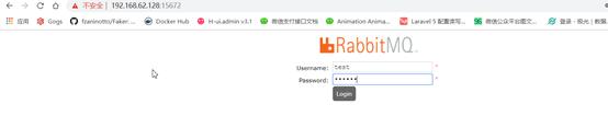 docker+laravel5.7+rabbitmq尝试