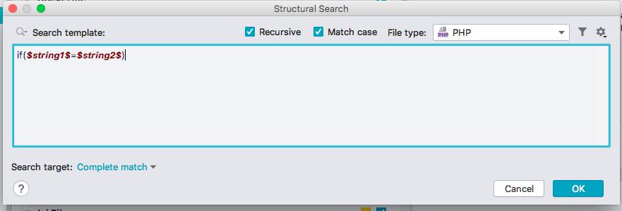 PhpStorm 添加自定义Inspection