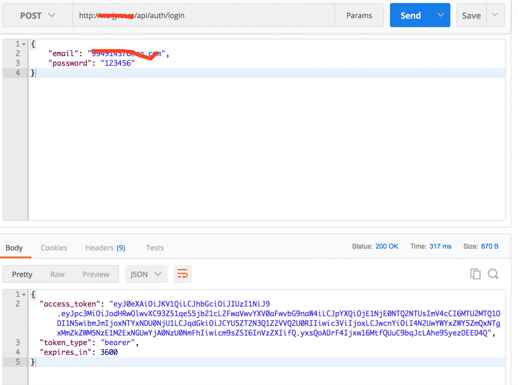 laravel JWT 多表多用户登录