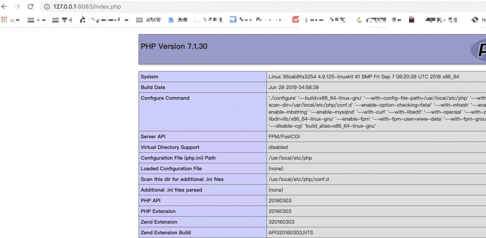 macOS docker/laradock 安装与使用