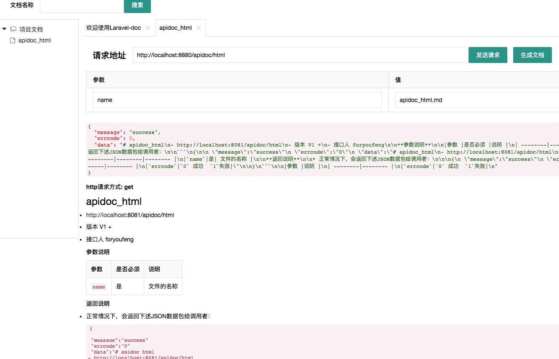 Laravel 文档工具