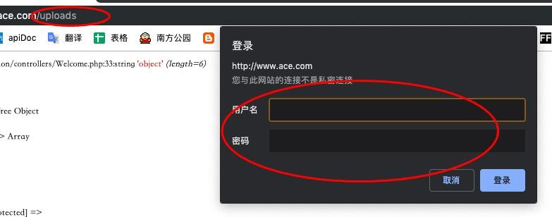 nginx配置目录账号密码访问,出现403forbidden