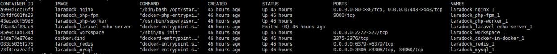 服务器环境搭建:Laradock部署laravel+mysql+redis+laravel-echo-server
