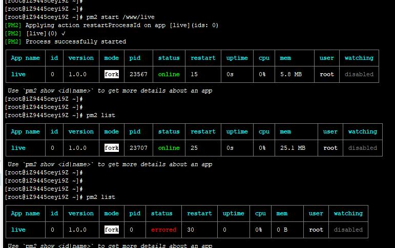 node.js项目如何保持一直启动呢