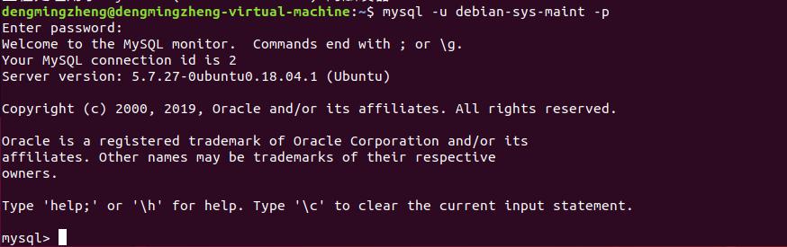 在Ubuntu18.04下安装LNMP环境