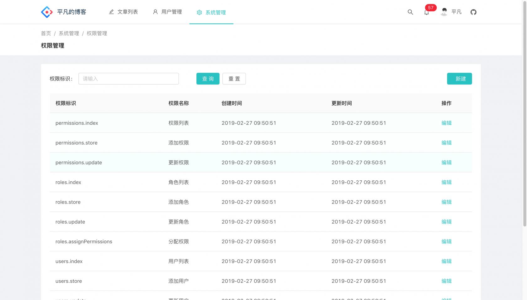 Laravel + AntdPro 开发的个人博客 V2.0