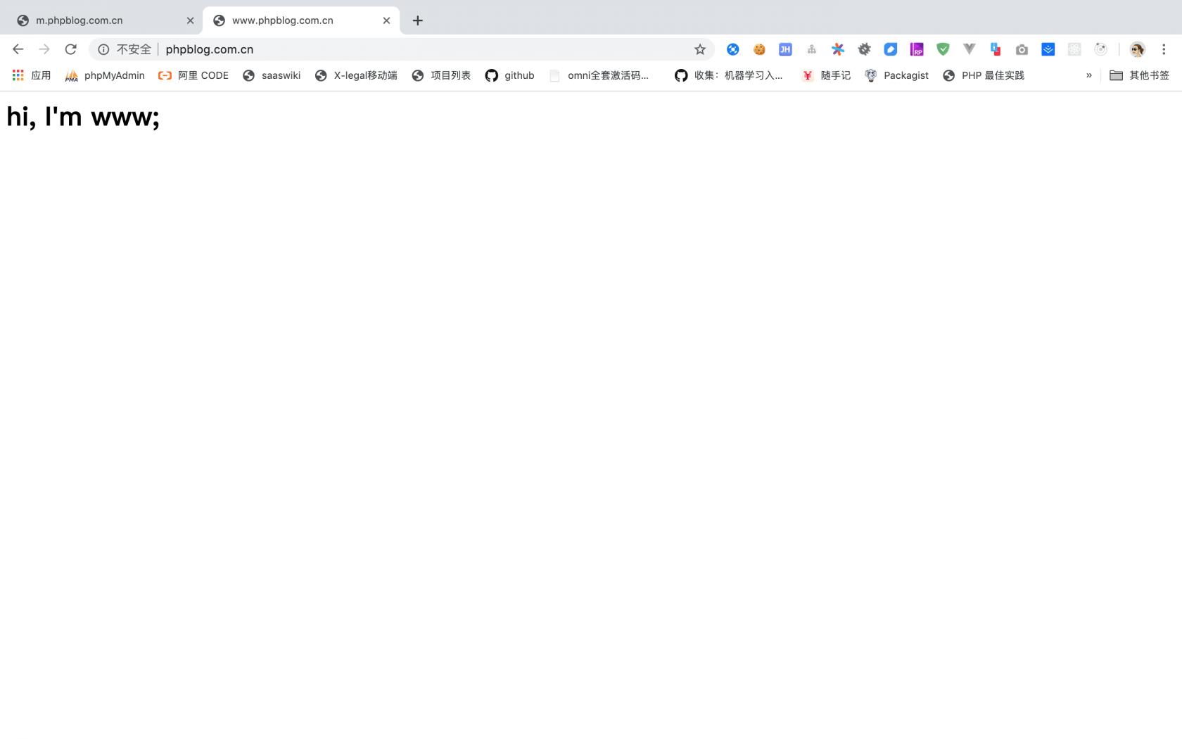 Nginx 配置移动端和电脑端自动双向跳转
