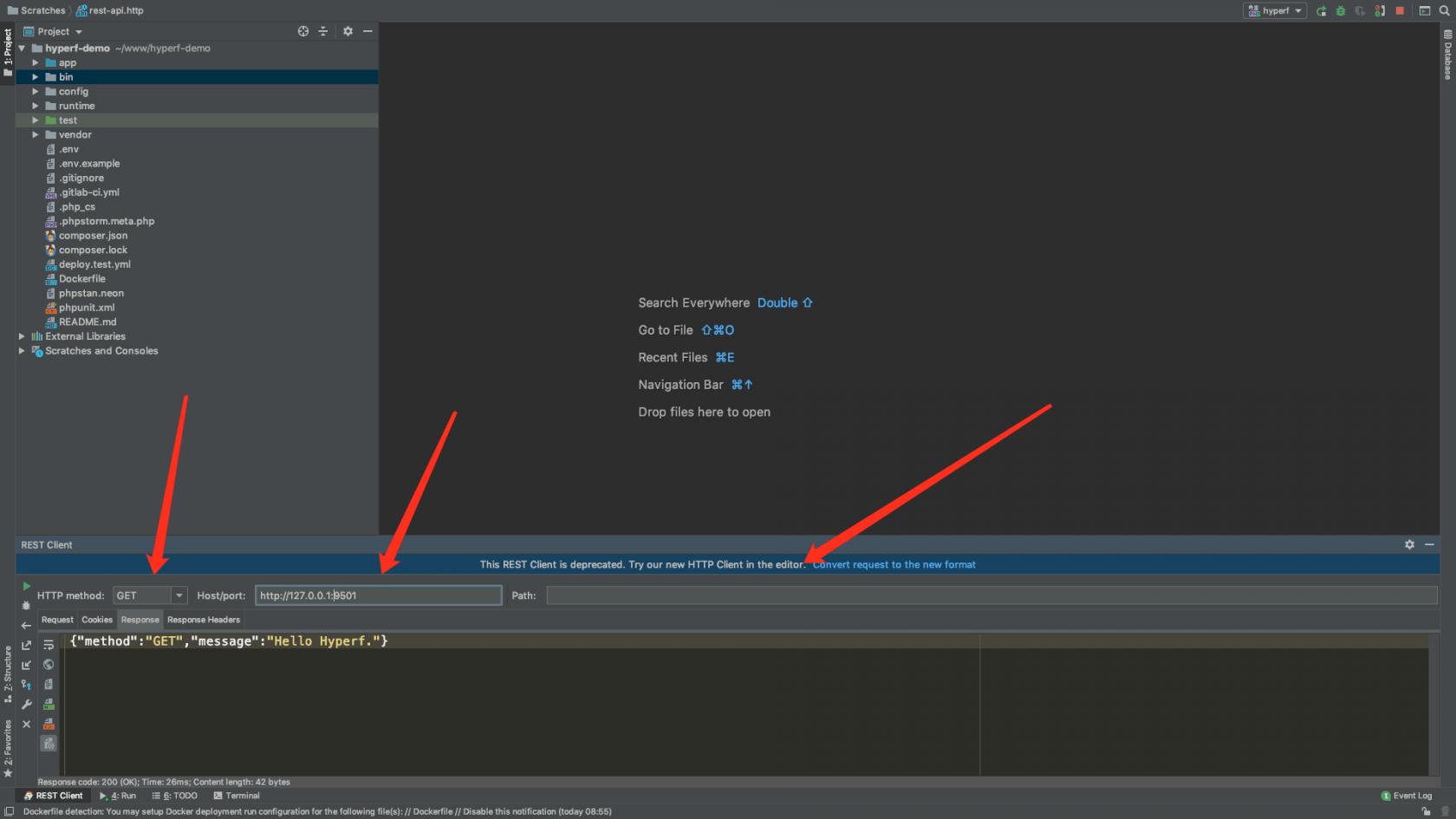 PhpStrom如何优雅的调试Hyperf