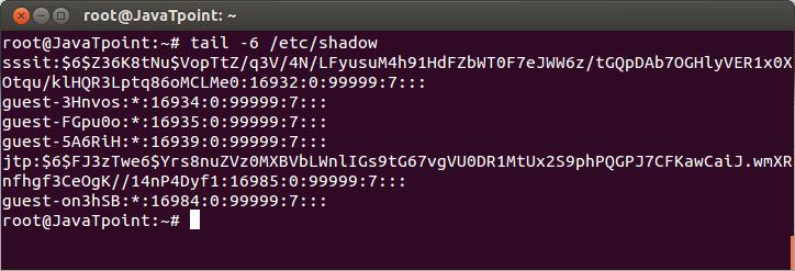 Linux User Password3