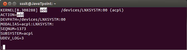 Linux Less Command3