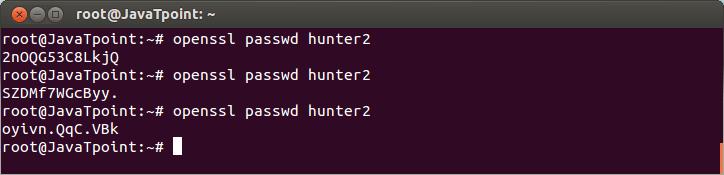 Linux User Password5