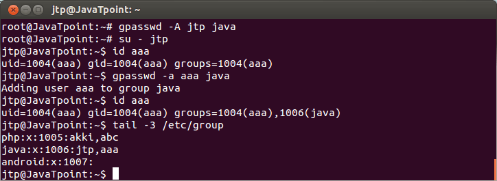 Linux Local Group7