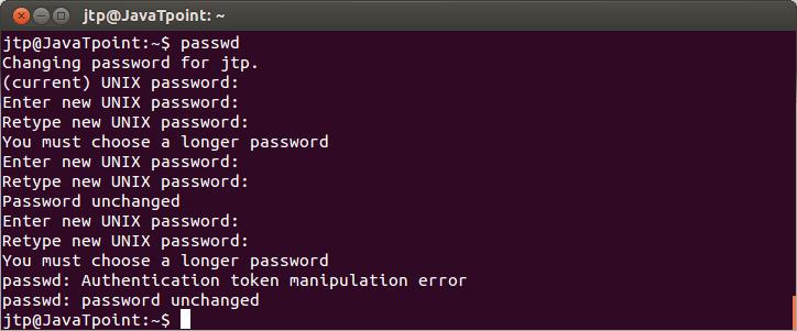 Linux User Password1