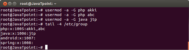 Linux Local Group4