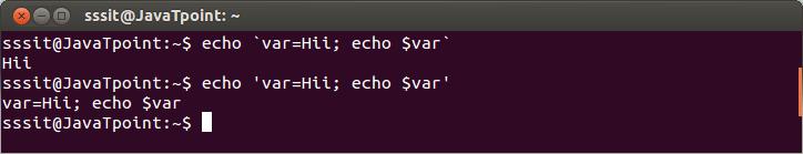 Linux Shell Embedding3