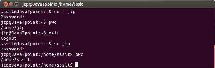 Linux su Commands5