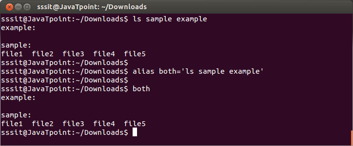 Linux Aliases3
