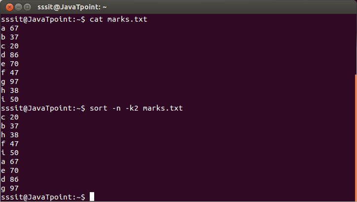 Linux Sort Filters3