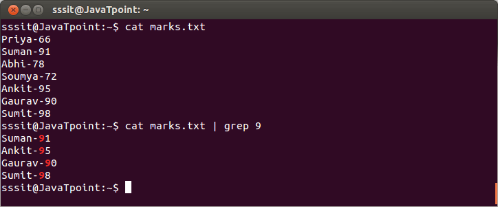 Linux Grep Filters1