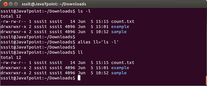 Linux Aliases2