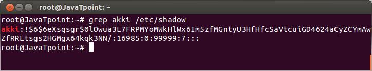 Linux User Password11
