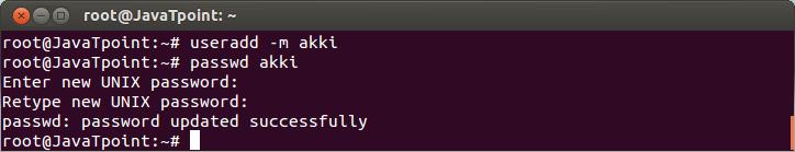 Linux User Password4