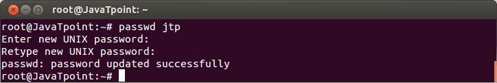Linux User Password2