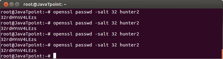 Linux User Password6