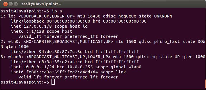 Linux IP1