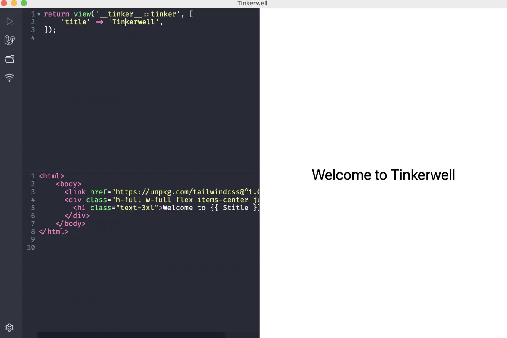 MacOS 下的 Laravel 调试软件 - Tinkerwell