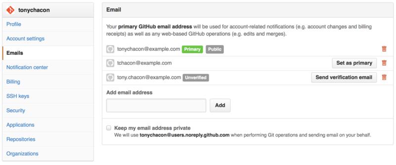 添加所有邮件地址。