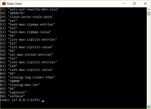 Redis Configuration 3