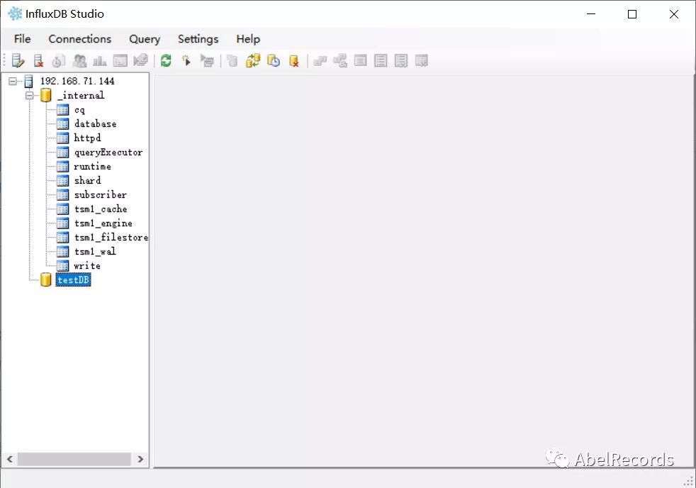 InfluxDB 管理工具