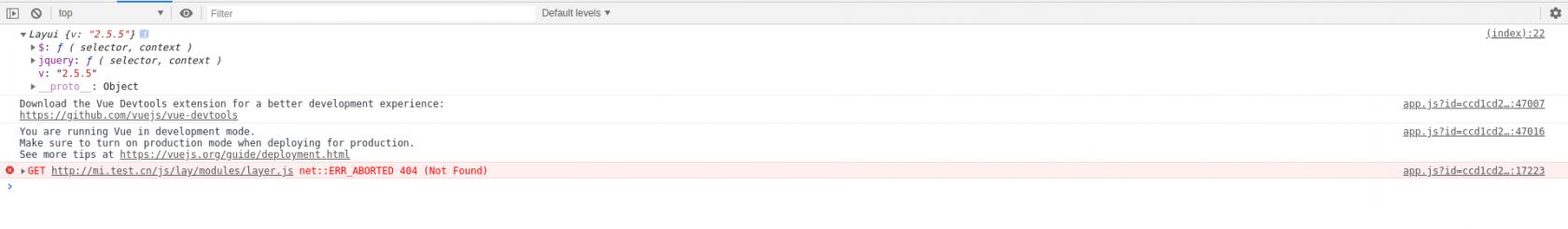 laravel下通过yarn引入layui后加载layer模块无法加载对应js