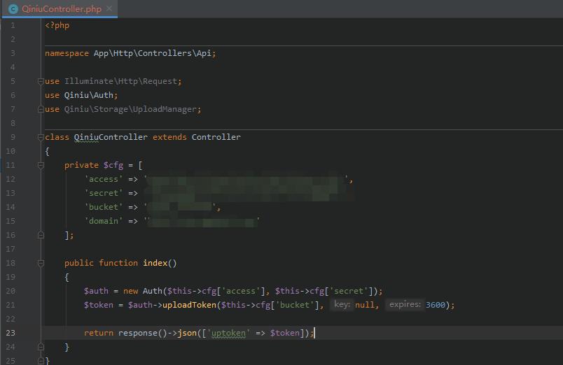 Laravel-admin 配置 wangEditor3 富文本编辑器图片七牛云图片上传