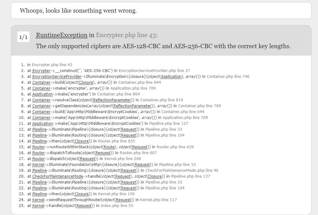 app_key 问题