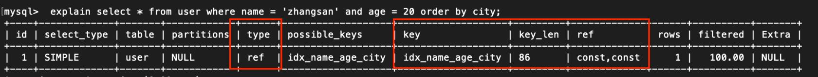 Orderby 排序优化