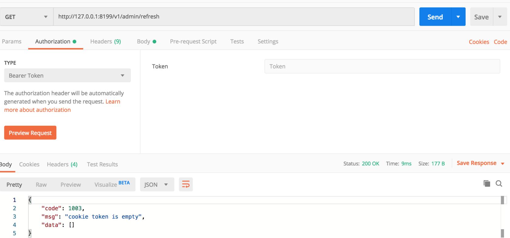 使用GoFrame框架 JWT方式验证用户信息