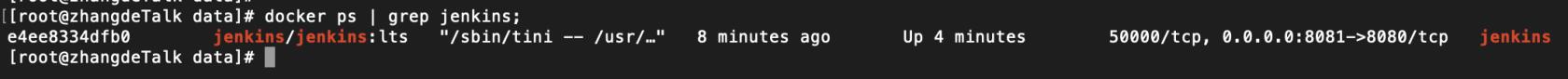 Docker 搭建 Jenkins 实现自动部署