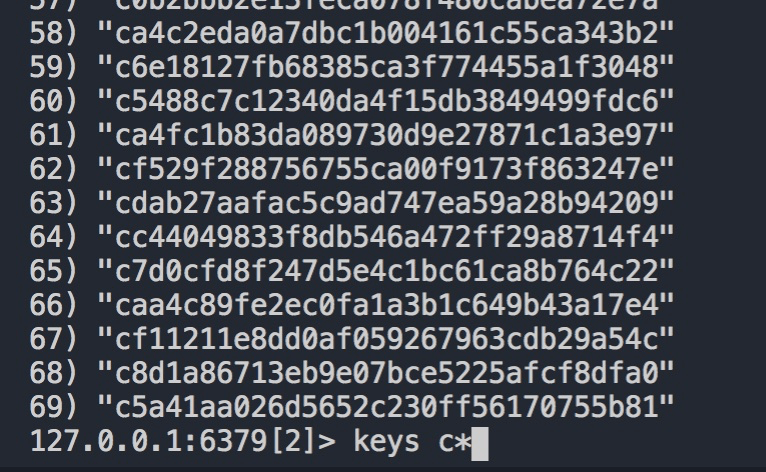 Redis中使用scan替换keys
