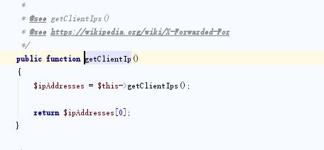 关于Laravel 使用了CDN 获取真实IP记录