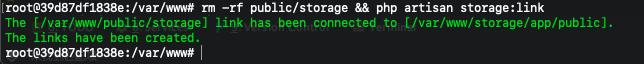 Laravel在Docker环境下访问storage静态资源404问题解决