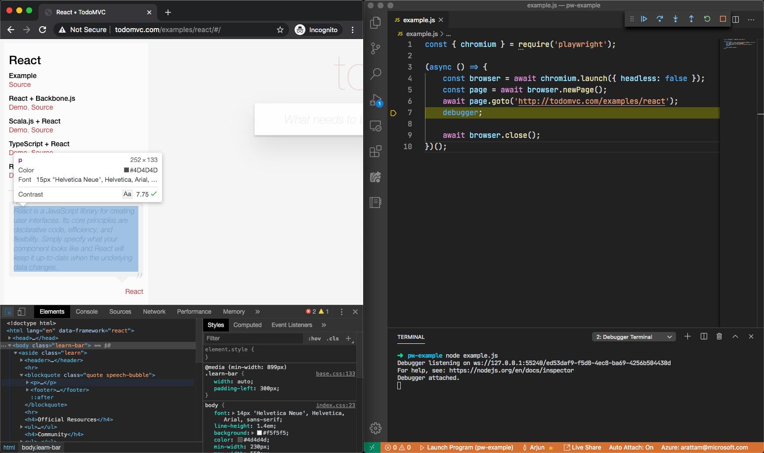 Chromium Developer Tools