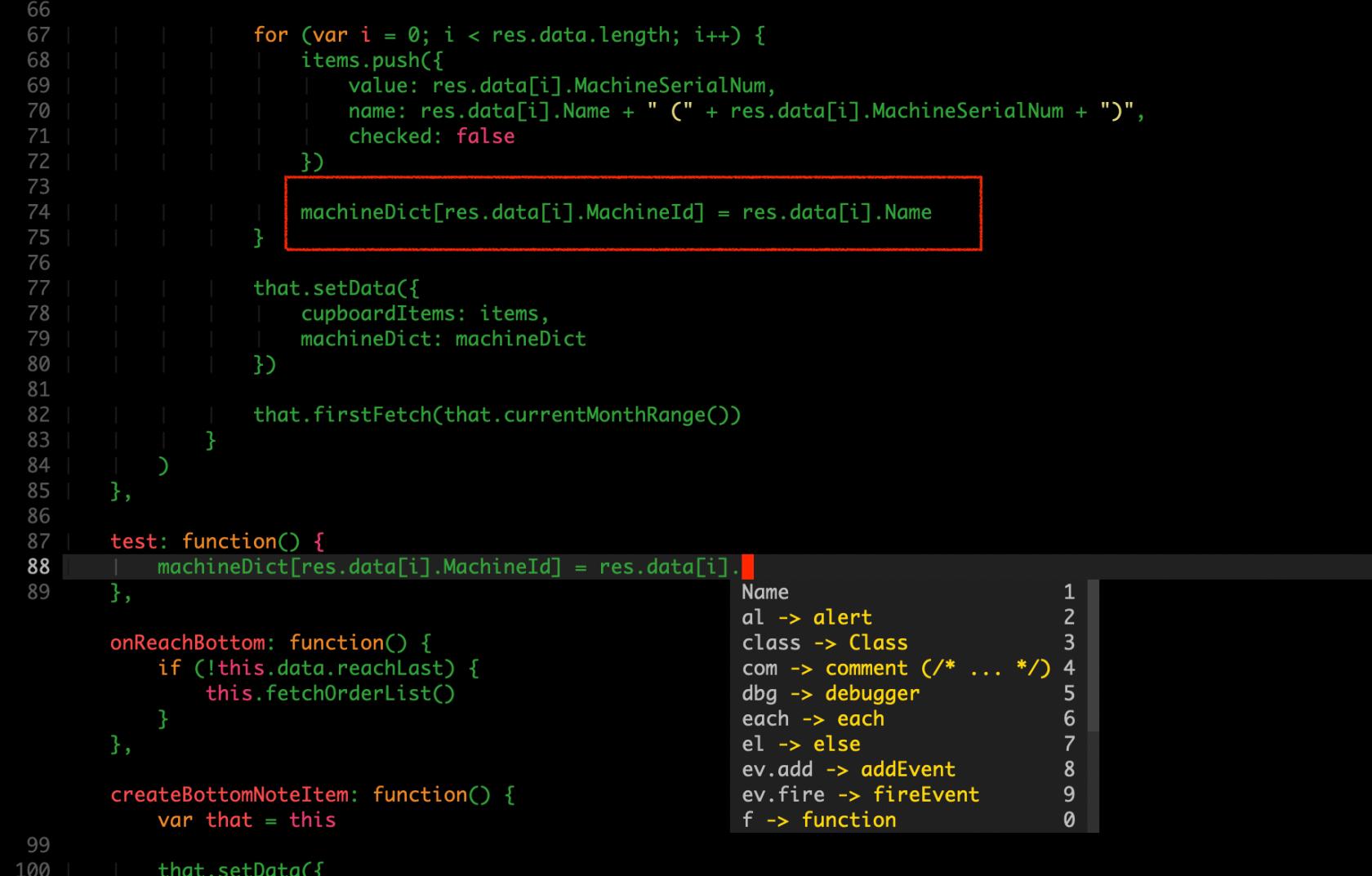 JavaScript exampele