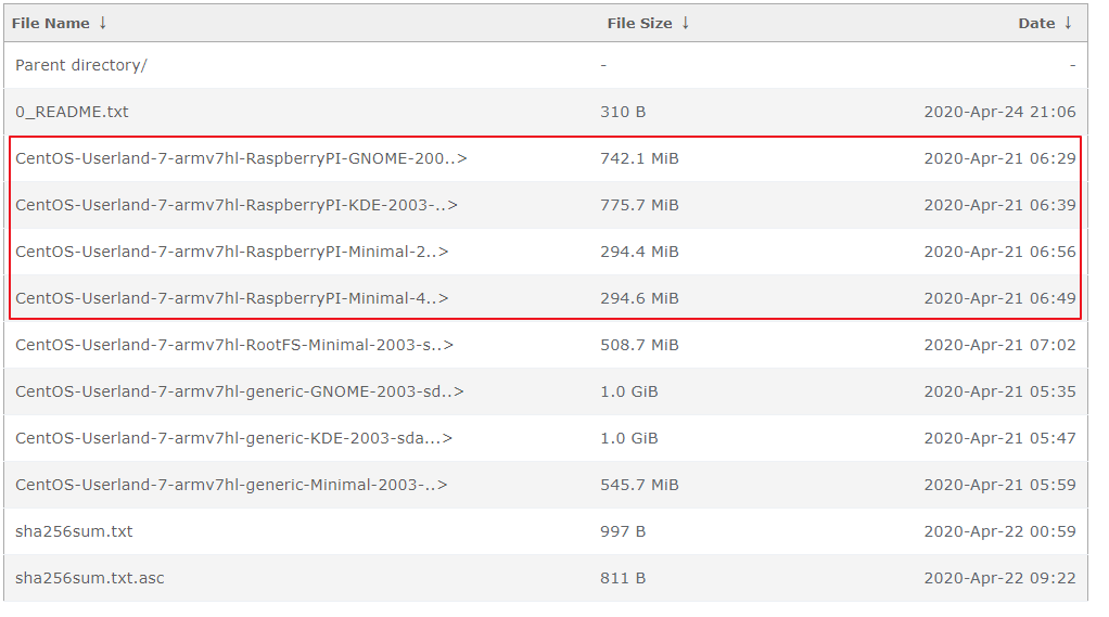记一次树莓派4B安装Centos7安装使用