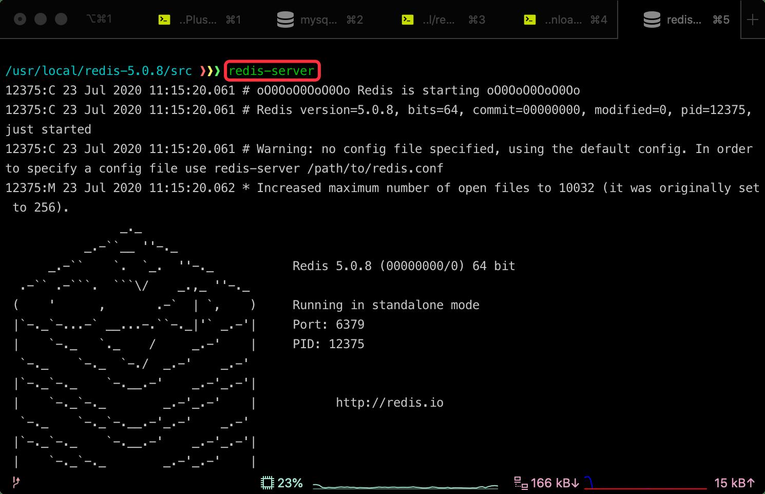Mac 安装 Redis