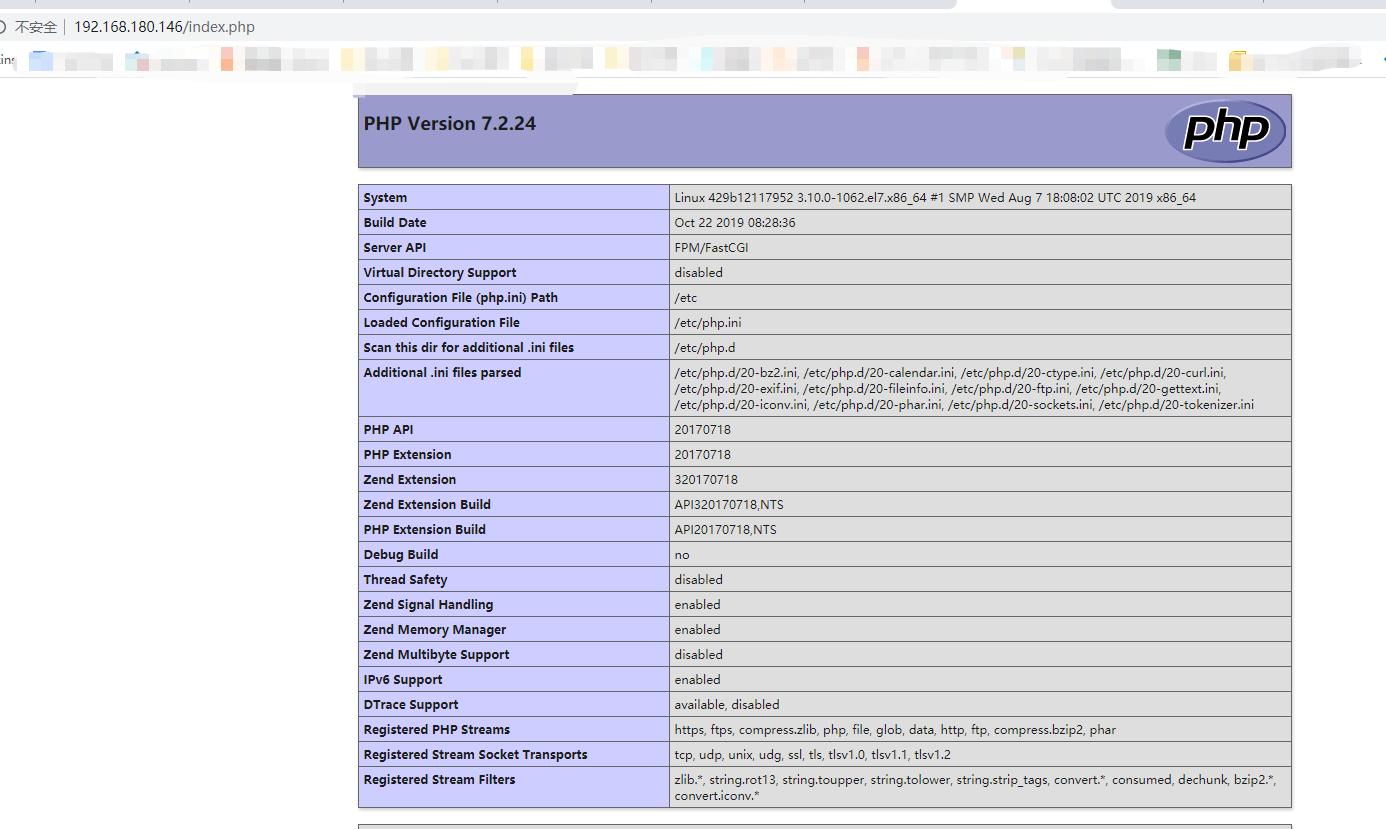 Docker笔记2——保存自己的LNMP