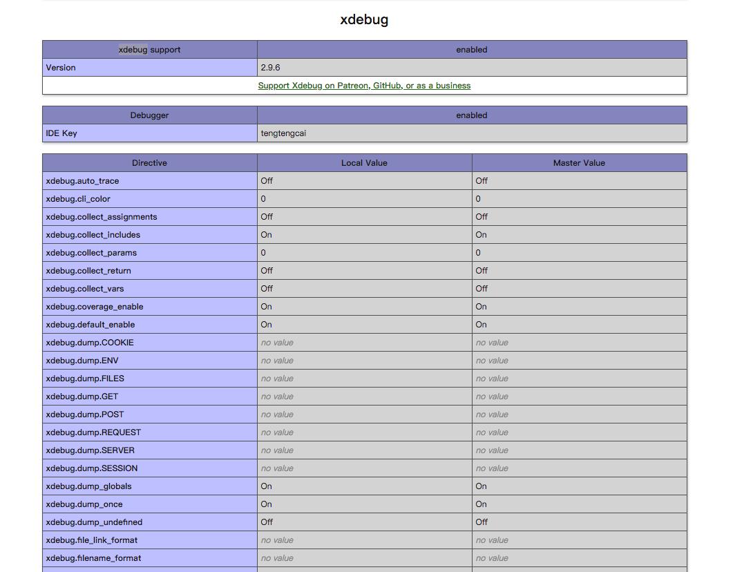 mac使用phpstorm开启xdebug