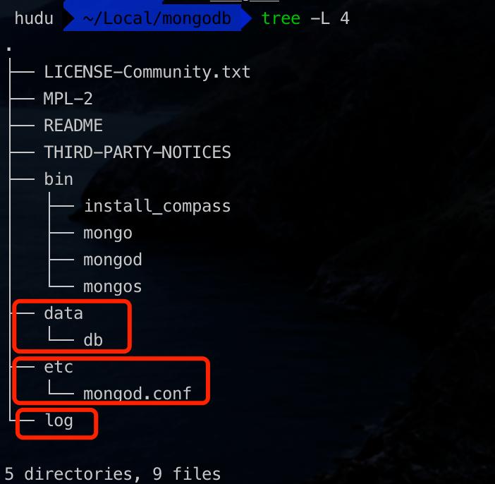 MAC 安装 MongoDB
